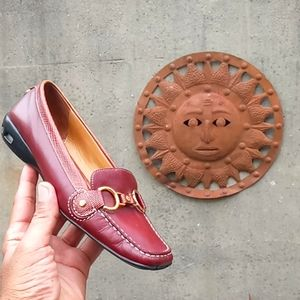 Cole Haan/Nike Horse bit Ladies Slip on Loafer